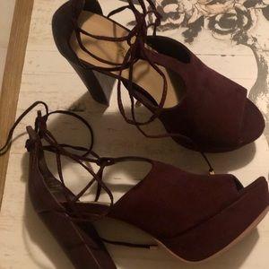Shoe Dazzle marlena heel
